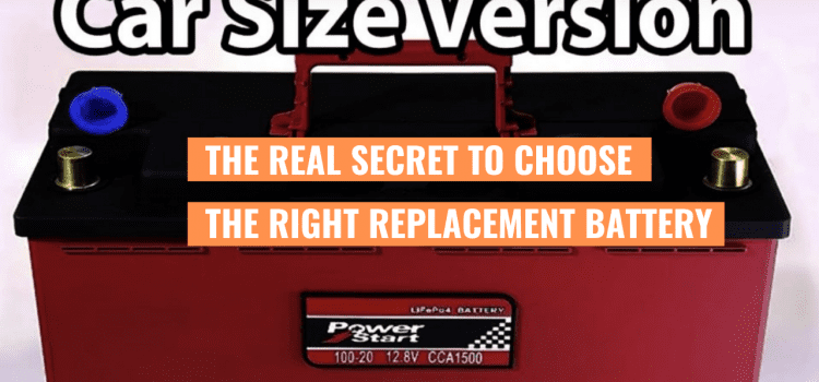 The Real Secret To Choose The Right Replacement Battery