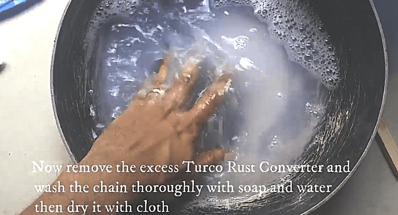 Remove Chain Rust